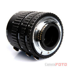 Meike AUTO FOSUC Macro Extension Tube Ring FOR nikon d40x d60 d80 d90 d700 d300s