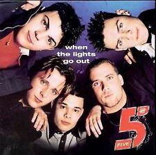 When the Lights Go Out 5ive MUSIC CD