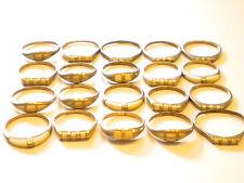 lot 20 bagues/argent massif/925/nacre/revendeur/grossiste/ring silver