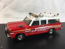 Western Models 1/43 FDNY Chevy C10 Suburban Fire Chief Hard To Find Limited
