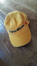 TAYLORMADE R7 GOLF GOLD BASEBALL CAP HAT  ADJUSTABLE STRAP EXCELLENT CONDITION!