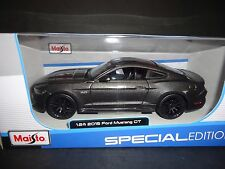 Maisto Ford Mustang GT 2015 Grey 1/24