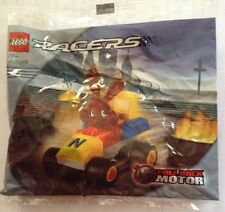 Sealed LEGO polybag 4299, rare and htf, Nestle racer