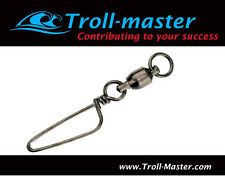 Troll-Master Ball-Bearing Swivels with Coastlock Snaps #7  200 lbs (LOT of 100)