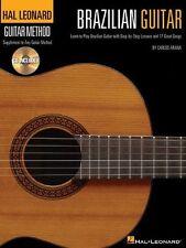 Hal Leonard Guitar Method: Brazilian Guitar Play Samba Brazil Music Book & CD