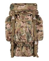 Combat 60ltr BTP Alternative to MTP Bergen Patrol Daysack Military Army Rucksack