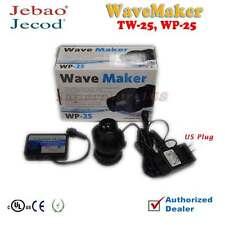 1 12W Jebao TW25 WP25 Wave Maker with Controller Powerhead Pump Wavemaker Black