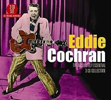 Eddie Cochran ABSOLUTELY ESSENTIAL COLLECTION Best Of 56 Songs NEW SEALED 3 CD