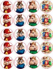 Cialda - Ostia per Cupcakes Alvin Superstar 20 Dischetti da 5 cm. per cupcakes!