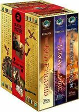 The Kane Chronicles: The Kane Chronicles Hardcover Boxed Set : The Red Pyramid;…
