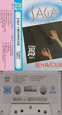 SAGA Behaviour 747 Pop Cassette Tape 1980s Rock Rare Misbehaviour Wind Him Up