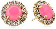 Kate Spade Gold Plated Flo Pink Secret Garden Earrings WBRU7896