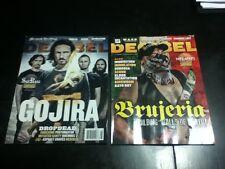 decibel heavy metal magazine lot 2 august september 2016 current issues brujeria