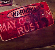 Hot Rod, May Contain Rust sticker, Warning, 140mm, quality print, new! X2!!