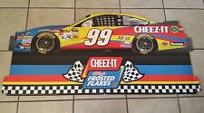 Carl Edwards NASCAR Cheez-its Frosted Flakes Car Display Sign Decoration