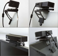 Black TV Clip Mount Stand For Kinect 2.0 Sensor Xbox One Motion Gaming