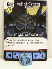 Yu-Gi-Oh Dice Masters - #107 Obelisk the Tormentor - Intimidator - Base Set