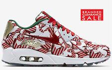 BNIB New womens Nike Nike Air Max 90 Red Gold White Ribbon Size 6