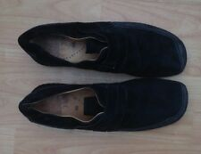 Gabor Jollys Ladies Black Suede Velcro Fastening Shoes - Size 40 (6)