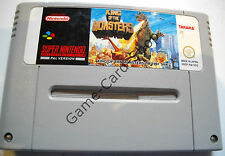 Snes-King of the Monsters-pal-seulement module-d' occasion