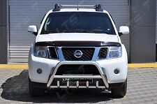 CHROME AXLE NUDGE BAR BULL BAR  FOR NISSAN NAVARA  2010 2014 STAINLESS STEEL