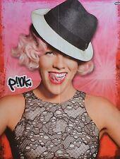 PINK - A2 Poster (XL - 42 x 55 cm) - Clippings Fan Sammlung NEU