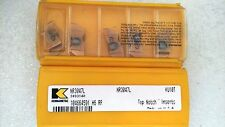 Lot of 10 Kennametal Top Notch Carbide Insert NR3047L KU10T NEW in Package