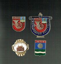 SOWJETUNION - RUSSLAND: 4 ABZEICHEN / mir unbekannt