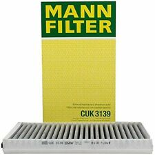 MANN FILTER CUK 3139 CABIN AIR FILTER WITH ACTIVATED CHARCOAL