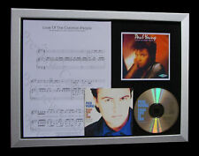 PAUL YOUNG Love Common People LTD TOP QUALITY CD FRAMED DISPLAY+FAST GLOBAL SHIP