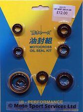 Engine Oil Seal Kit Yamaha YZ250F YZF 250 YZF 250 WR 2001 to 2013 models MITAKA