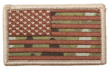 "Multicam Camo Embroidered Patch of USA Flag 2"" x 3 1/4"" Made In The USA"