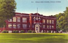 OCALA HIGH SCHOOL, FLORIDA part of the central school plant of seven city blocks