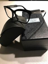 Prada PR 24SV 1AB-1O1 Black Jurnal Womens Eyeglasses Size 53 NEW