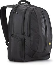 "Case Logic 17.3"" Laptop iPad Tablet Rucksack Backpack Case RBP-217 Black NEW"