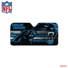 New NFL Carolina Panthers Car Truck Windshield Folding Sun Shade Large Size