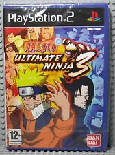 Naruto: Ultimate Ninja 3 - Playstation 2 UK - Neuf sous Blister