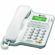 NEW AT&T CL2909 Corded Phone with Speakerphone and Caller ID/Call Waiting White