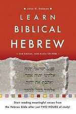 Learn Biblical Hebrew by John H. Dobson (Mixed media product, 2003)