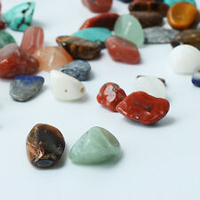 1Bag 100g Mixed Color Irregular Shape Tumbled Stone Rock Gem Bead Chips Amusing