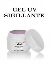 Gel UV Sigillante 5 ml Finish Alta Qualità NDED x Ricostruzione Unghie Nail Art