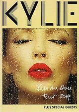 KYLIE MINOGUE - A5 Tour Leaflet - KISS ME ONCE