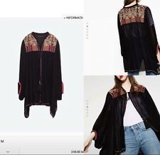 Zara Embroidered Cape