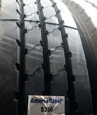 (4-Tires) 11R24.5 tires General S360 All Position tire 11x24.5 USA 16 PR 11245