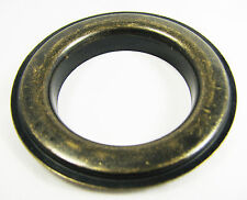 "6pc. Antique Brass Curtain Grommets & Washers - #12 Size (1.5"" Hole) - 32-37-02"