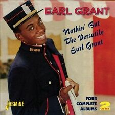 Nothin' But the Versatile Earl Grant-Four by Earl Grant (CD, Apr-2012, 2...