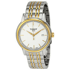Tissot Carson White Dial Two-tone Mens Watch T0854102201100