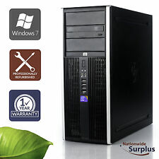 HP Elite 8100 MT PC Desktop Core i5-650 3.2GHz 4GB 500GB Win 7 Pro 1 Yr Wty