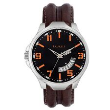 Laurels Outlander Analog Black Dial Men's Watch - Lo-Otr-0209