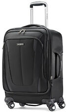 "Samsonite Silhouette Sphere 2 21"" Spinner Expandable Carry On Luggage - Black"